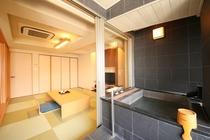 半露天風呂付特別室(一例)