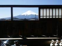 【◇富士山側◇】露天風呂付大部屋客室