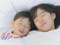 小学生以下のお子様添い寝は無料!(ベッド1台につき1名まで)※アメニティはご準備ください