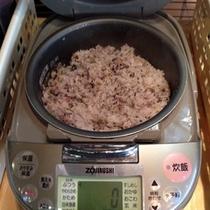 炊き立て雑穀米