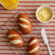 スイス仕立ての焼き立てパン