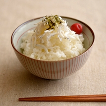 【朝食】白飯