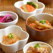 【朝食】和食小鉢