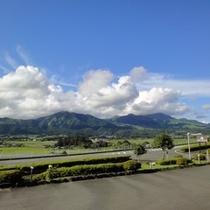 【四季の森景観】夏の阿蘇五岳