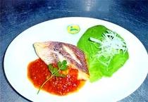 夕食 魚料理