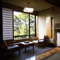 和室の縁側