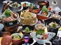春の会席料理(イメージ)