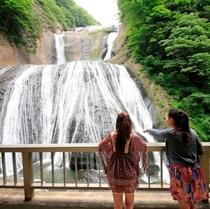 袋田の滝(モデルあり)