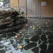 秋限定!奥久慈 名産 リンゴを入れたリンゴ風呂