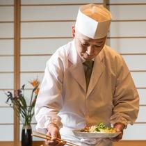 旬の食材をふんだんに使用した特別会席料理をご用意。