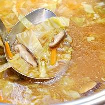 中華気まぐれメニュー★春野菜入り味噌スープ♪