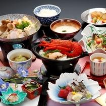 【ご夕食】彩伊勢海老会席