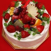 記念日フルーツケーキ