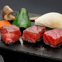 【ご夕食】溶岩焼