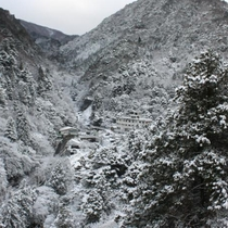 冬の湯の山温泉
