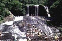 龍門の滝/類を見ない名瀑です(九重町)