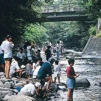 上津江フィッシングパーク/家族で自然にふれてみませんか