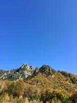 秋の瑞牆山