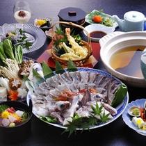 お料理一例(たいしゃぶ鍋)