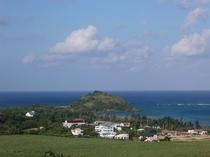 海すずめのある集落全体の風景、のどかな場所です