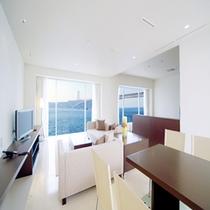 【NAGOMI】85平米絶景オーシャンスイートルーム