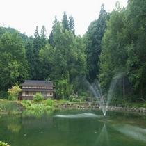 大庭園噴水