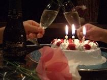 お誕生日用手作りケーキ