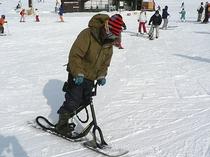 スノースクート体験