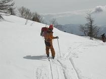 冬の根子岳ツアー