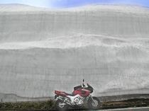 雪の壁ツーリング