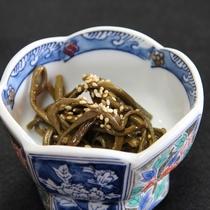 季節の小鉢(夕食一例)