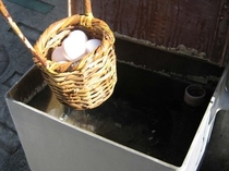 温泉たまご作り湯
