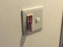 ●客室タブレット●タブレットを挿入すると電気系統が作動致します●