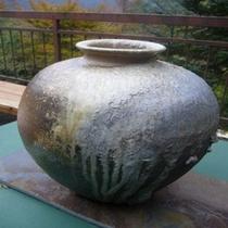 手作りの壺