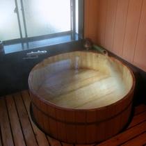 【リニューアル♪】檜を使った内風呂です!