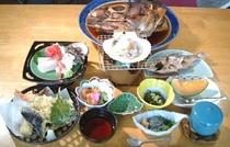 海の幸いっぱいのお料理
