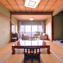 *百合(客室一例)/しっとり落ち着いた雰囲気の和室。足を伸ばしてお寛ぎ下さい。
