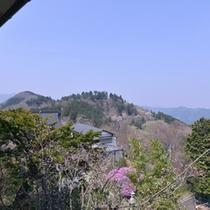 *お部屋からの景観/昼は関東平野を、夜は東京の夜景を一望することができます。