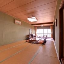 *やまぶき(客室一例)/ご家族やグループでのご宿泊に◎お部屋から望む関東平野は絶景そのもの。
