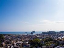 高層階からの眺め(海)