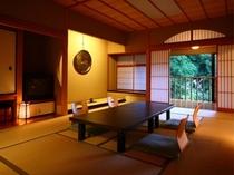 各部屋とも大正から昭和にかけての日本建築の特徴を随所に配しております。