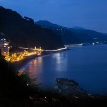 北川温泉全景(夜)