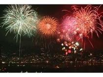 ★【周辺・観光スポット】数千発の大迫力!熱海花火大会