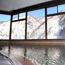 大浴場 冬1