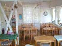 広々とした食堂