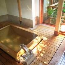 離れ風「光」客室風呂