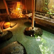 *露天風呂(下の湯)