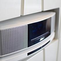 最上階フロアにはBOSEのサウンドシステムを導入。Bluetoothに接続してお好きな音楽を。