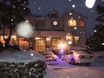 小雪の外観
