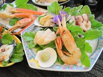 【ご夕食の一例】刺身